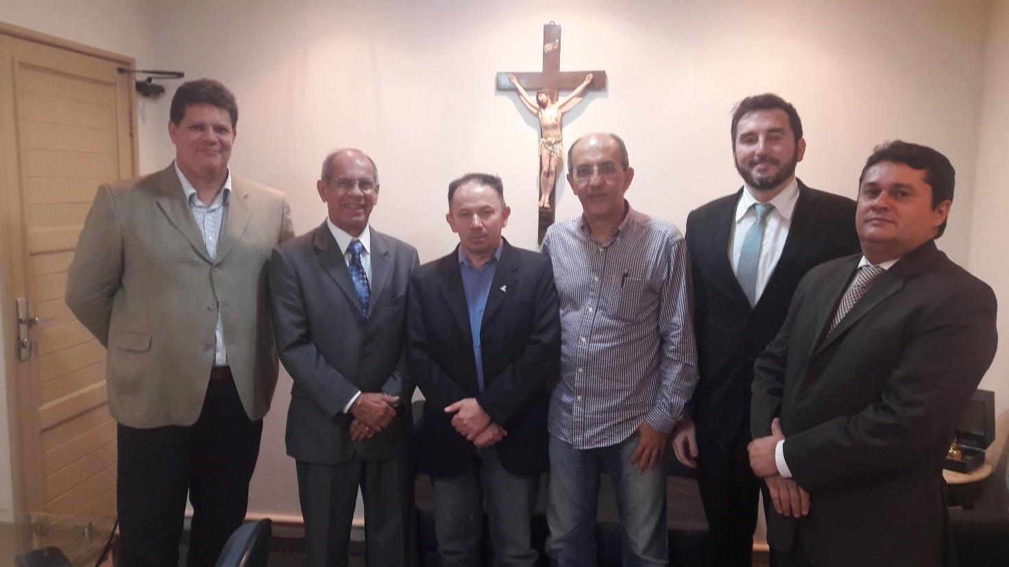 Reunião na SEGUPE Secretaria de Segurança do Estado do Pará